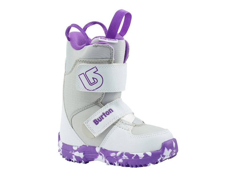 Buty Burton Mini Grom White/Purple 2018 najtaniej