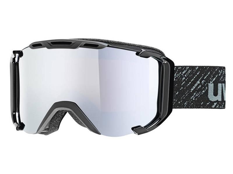 Gogle UVEX Snowstrike FM Black Mat Mirror Silver (2126) 2018 najtaniej