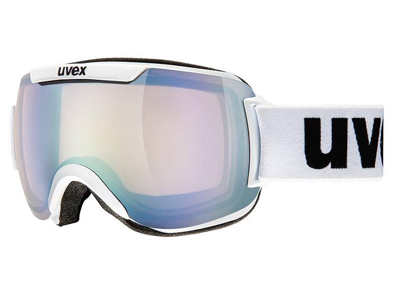 Gogle UVEX Downhill 2000 VLM White VarioMatic FOTOCHROM [1023] 2018 najtaniej