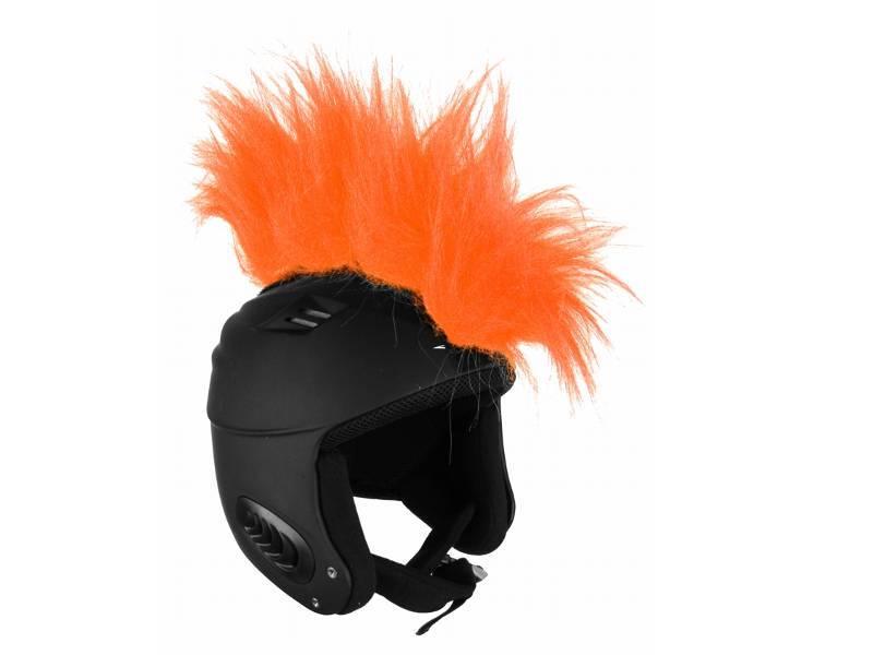 Włosy na kask - Ski Fix - Apache Orange 2018 najtaniej