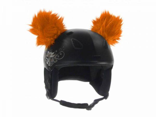 Naklejane uszy na kask - Ski Fix - Coala Orange 2018 najtaniej