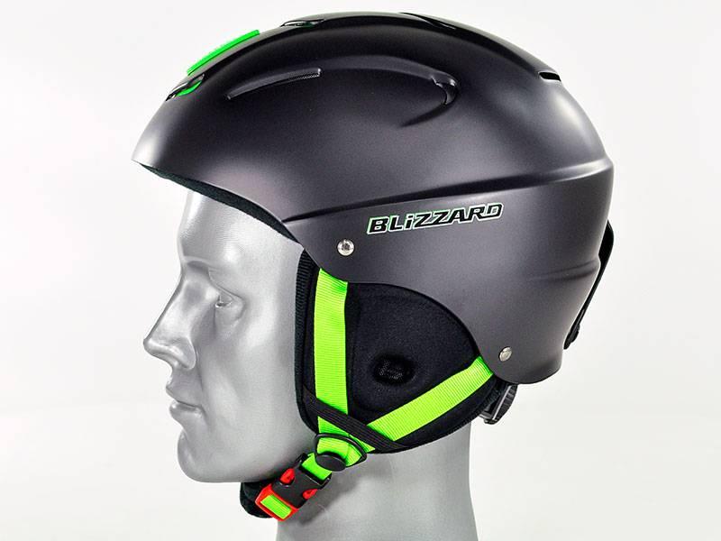 Kask Blizzard Mega Ski Helmet Black Matt/Lime najtaniej