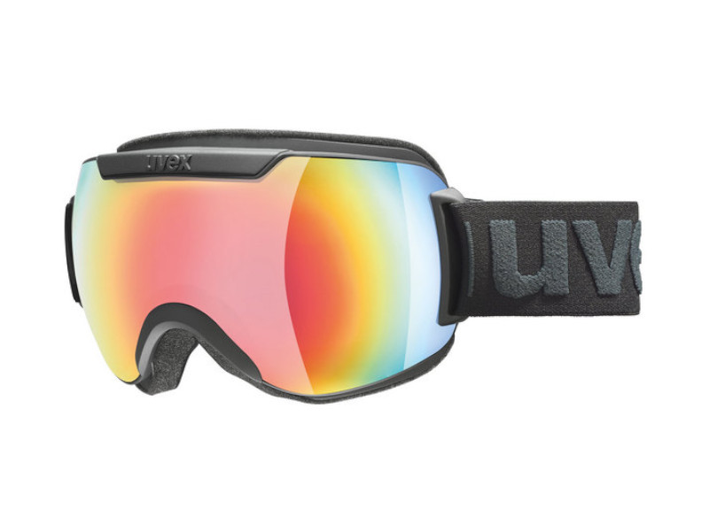 Gogle UVEX Downhill 2000 FM Black Mirror Rainbow Rose (2230) 2019 najtaniej