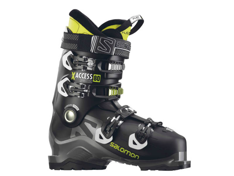Buty Salomon X Access 80 Black/Anthracite/Acide Green ​ 2019 najtaniej
