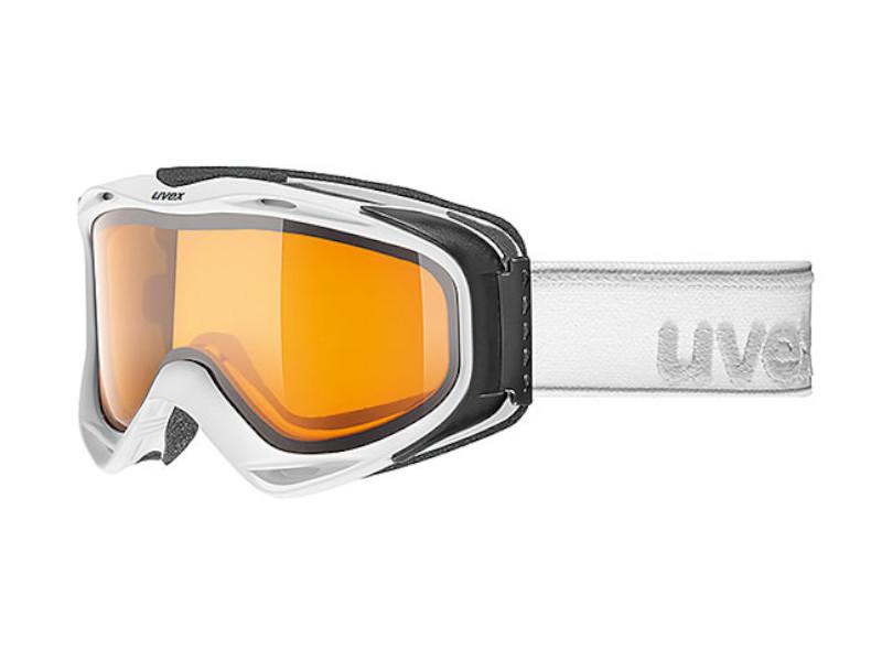 Gogle UVEX g.gl 300 LGL White Mat Lasergold Lite Clear (1129) 2019 najtaniej