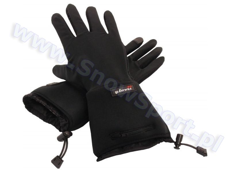 Ogrzewane rękawice narciarskie Glovii GL2 Black najtaniej