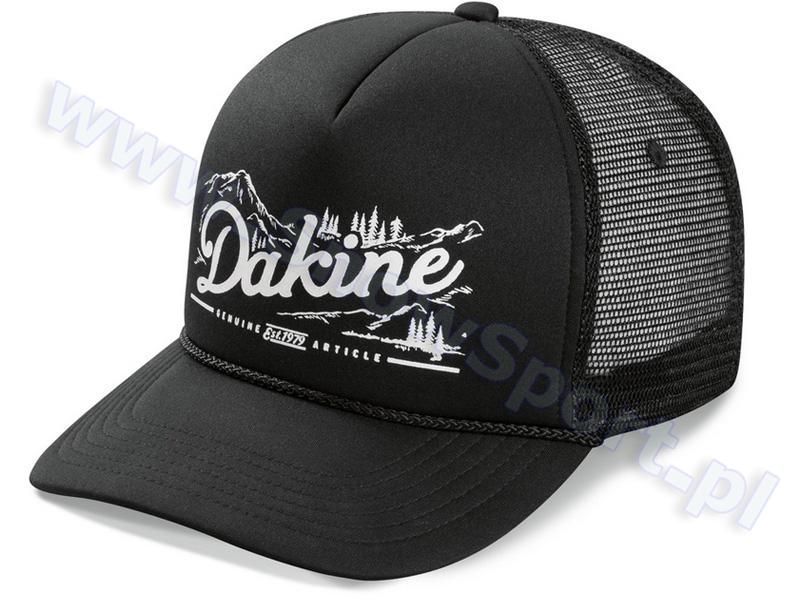 Czapka z daszkiem Dakine Mountain Trucker Black 2015 najtaniej