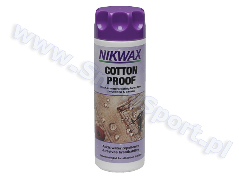 Impregnat do bawełny Nikwax Cotton Proof 2012 najtaniej