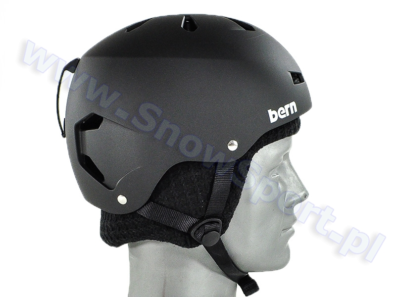 Kask BERN Macon EPS Audio Matte Black najtaniej