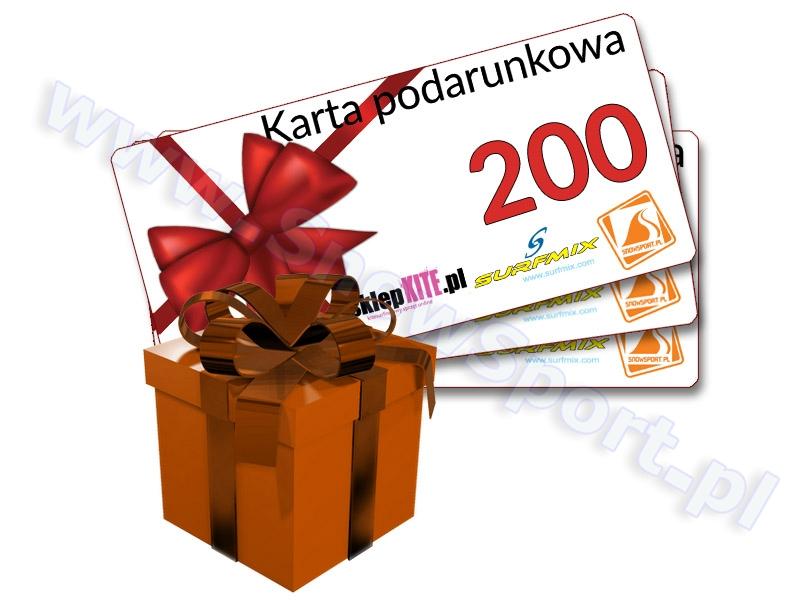 Karta Podarunkowa Bon Voucher 200 najtaniej
