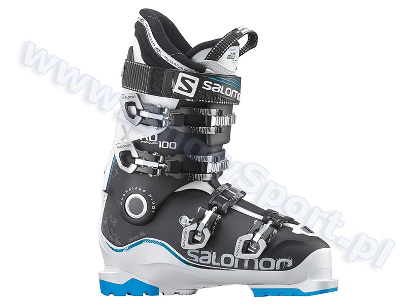 Buty SALOMON X Pro 100 White Black Blue 2015 najtaniej