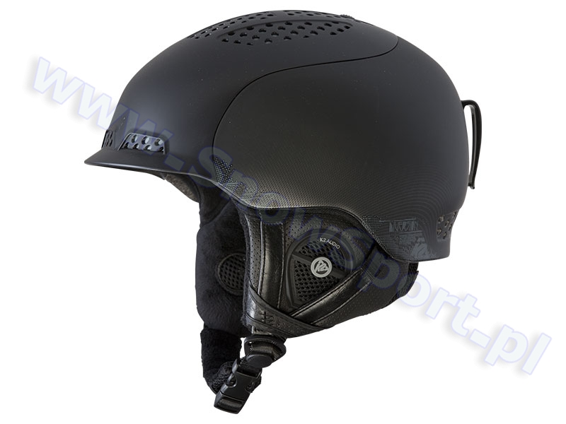 Kask z systemem audio K2 Diversion Black 2016 najtaniej
