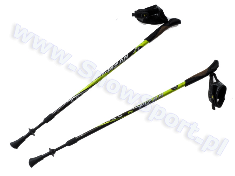 Kije Nordic Walking Fizan Speed Black Green 2016 najtaniej