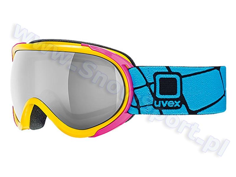 Gogle UVEX G.GL7 Yellow/Pink (6626) 2015 najtaniej
