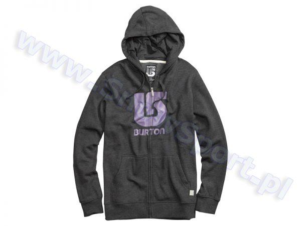 Bluza Burton Logo Vert Heather True Black najtaniej