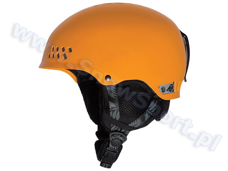 Kask z systemem audio K2 Phase Pro Bleached Orange 2016 najtaniej